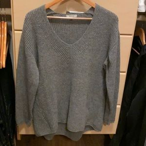 Madewell Gray Wool Sweater